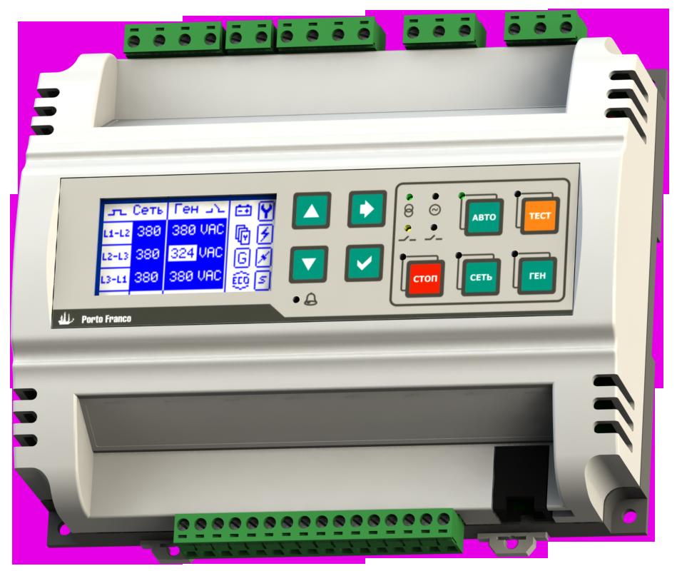 Серия КН. Контроллеры для установки на панель электрического щита